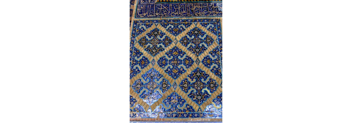 BLUE MOSQUE OF TABRIZ, TURQUOISE OF ISLAM