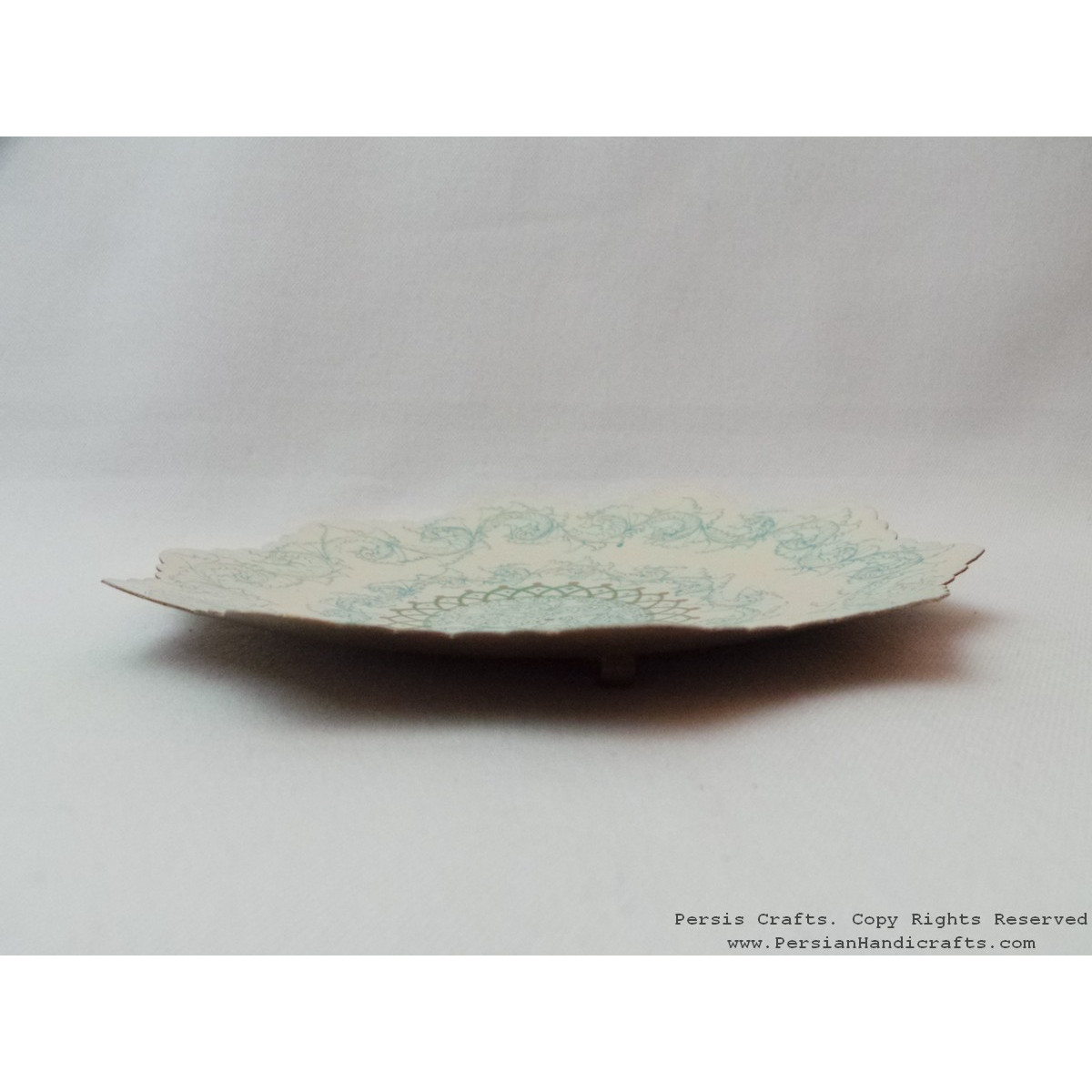 Modern Style Enamel Wall Hanging Plate He3035 Persiada