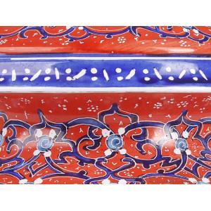 Enamel (Minakari) Sugar/Candy Pot - HE3605-Persian Handicrafts