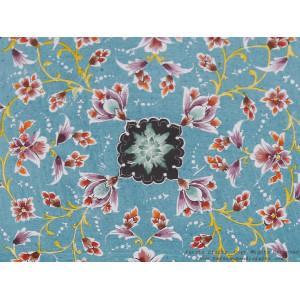 Enamel (Minakari) Wall Hanging Plate - HE3702-Persian Handicrafts