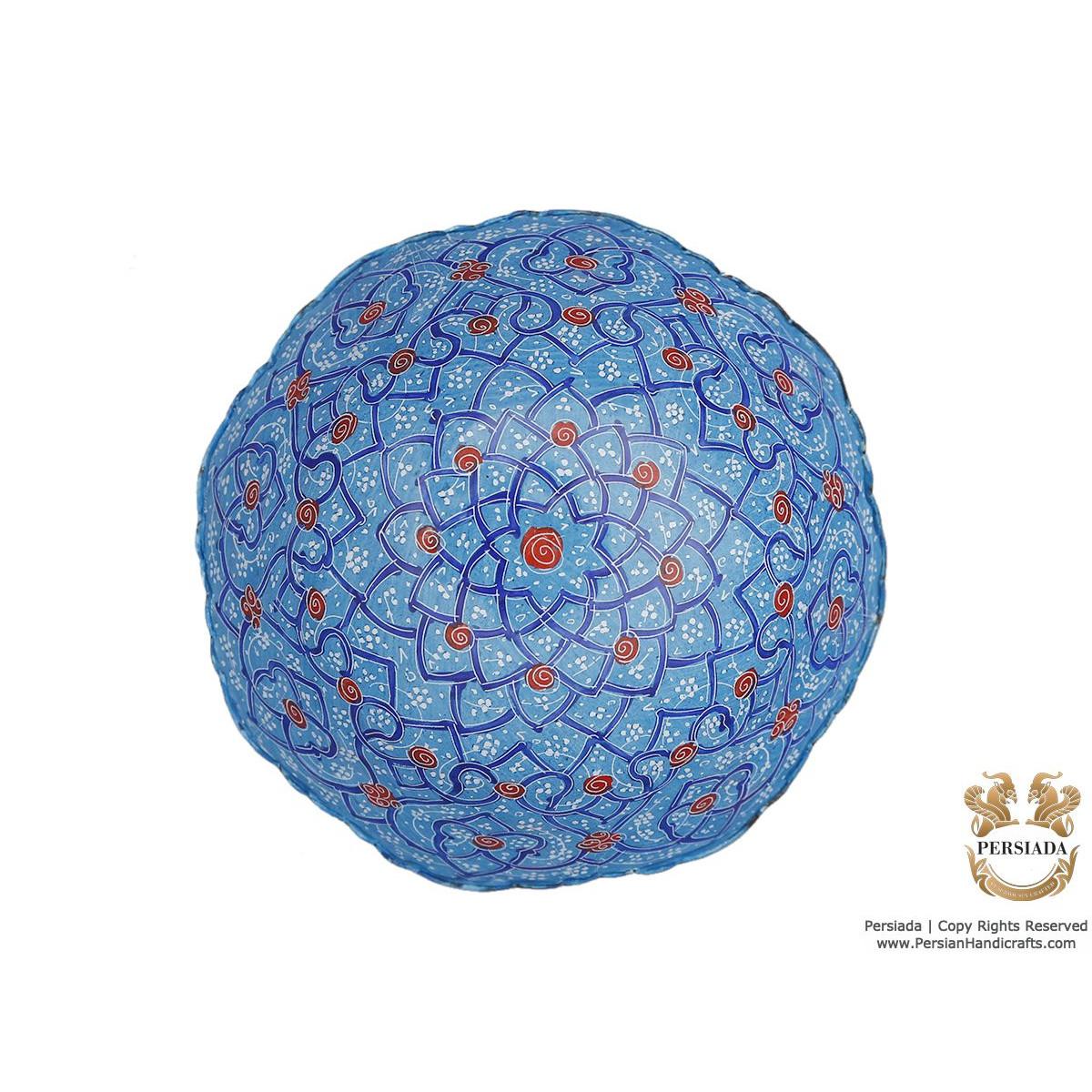 Decorative Bowl & Plate - Enamel Minakari   HE4101 Persiada