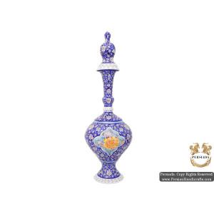 Jug with Lid   Hand Painted Minakari   HE5102-Persian Handicrafts