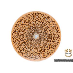 Wall Hanging Plate   Hand Painted Minakari   HE5106-Persian Handicrafts