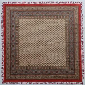 Persian Ghalamkar Tablecloth - HGH2053-Persian Handicrafts