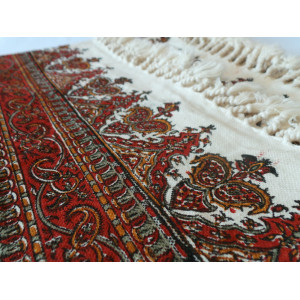 Persian Ghalamkar Bedspread or Tablecloth- HGH2056-Persian Handicrafts