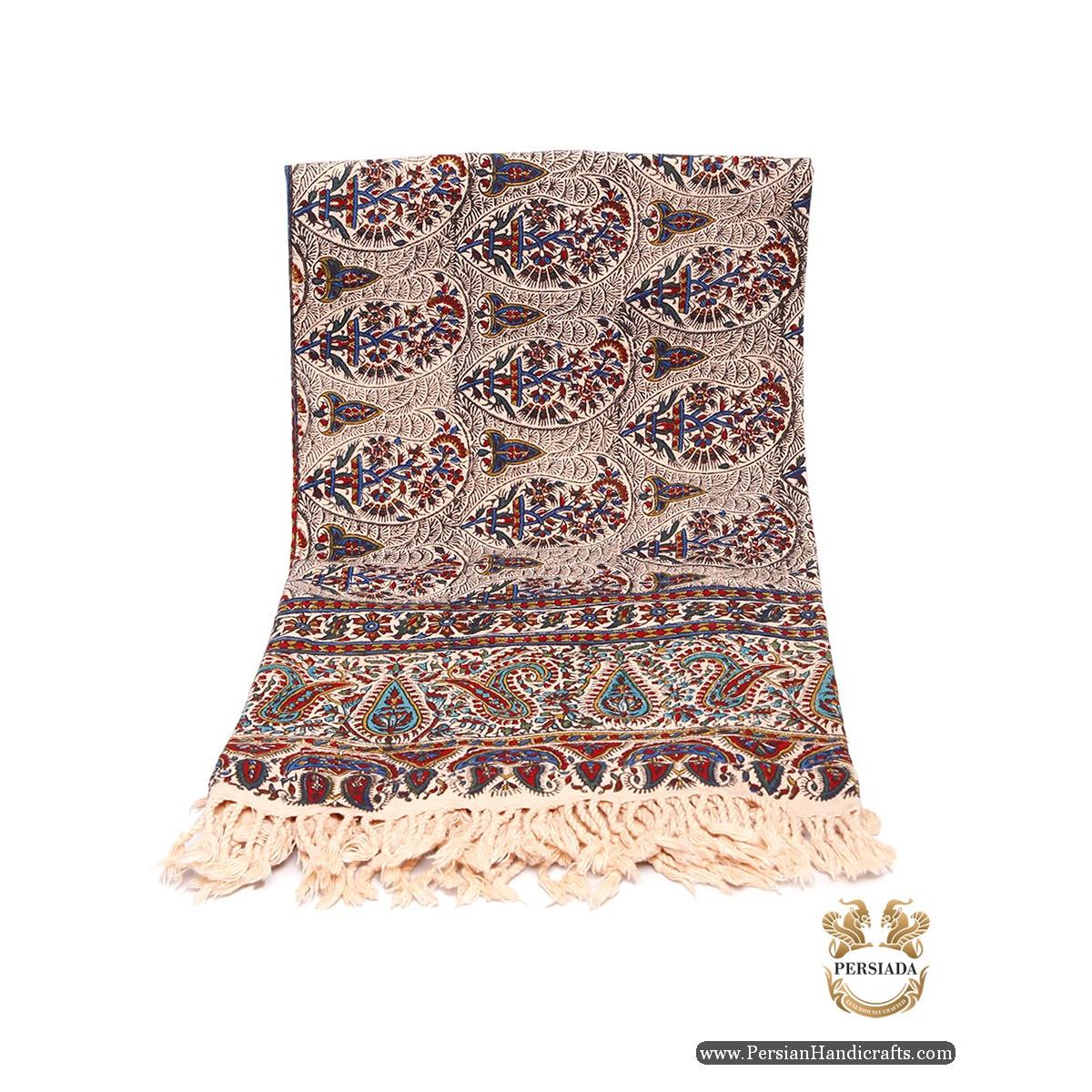 Square Tablecloth | Hand Printed Ghalamkar | Persiada HGH6110