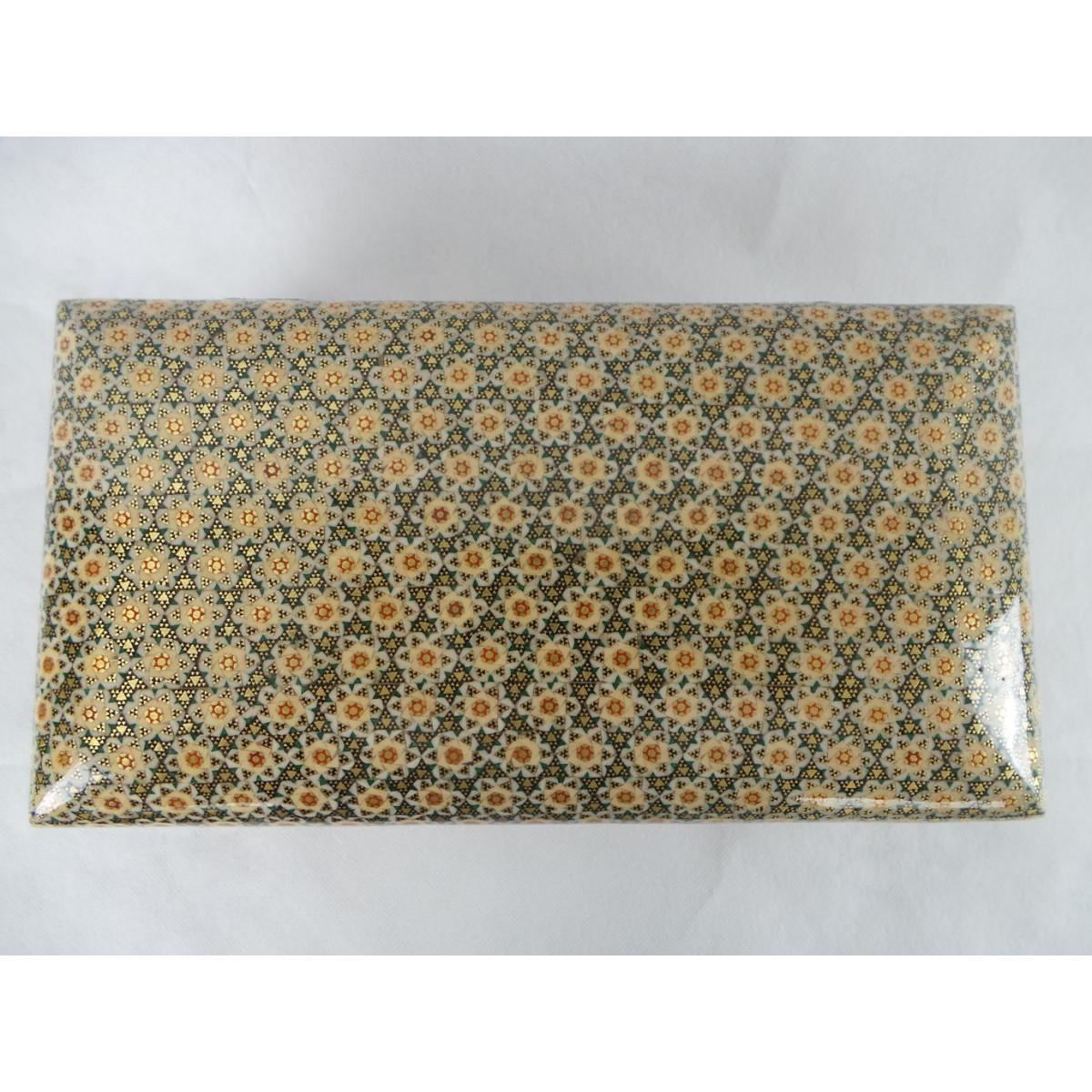 Persian Khatam Handicrafts Cutlery Box - HKH3000-Persian Handicrafts