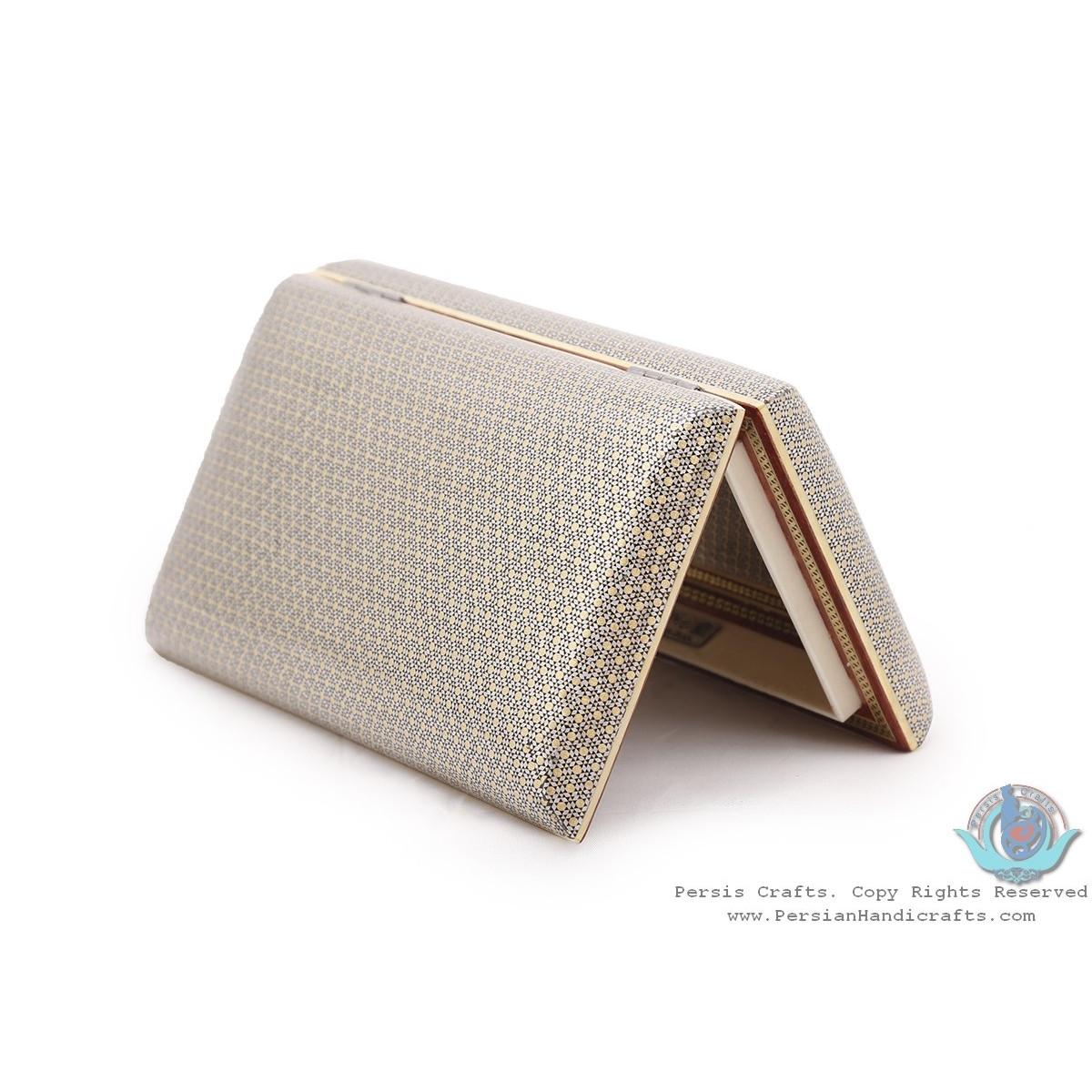 Privileged Fine Khatam Marquetry on Soup Shape Box  - HKH3917-Persian Handicrafts