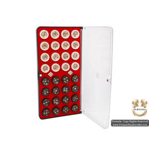 Backgammon & Chess Set   Miniature Khatam Marquetry   HKH5104-Persian Handicrafts