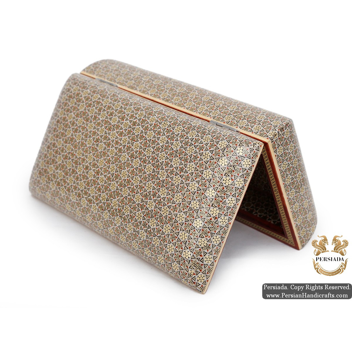 Jewellery Box | Premium In & Out Khatam Marquetry | HKH5111-Persian Handicrafts