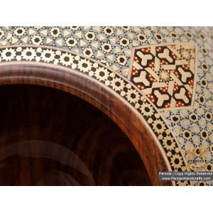 Iranian Arch Look Sugar Bowl   Khatam Marquetry   HKH520 Persiada