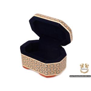 Mini jewellery Box | Miniature Khatam Marquetry | Persiada HKH6107