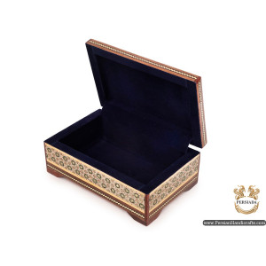 Decorative Set Box | Miniature Khatam Marquetry | Persiada HKH6109