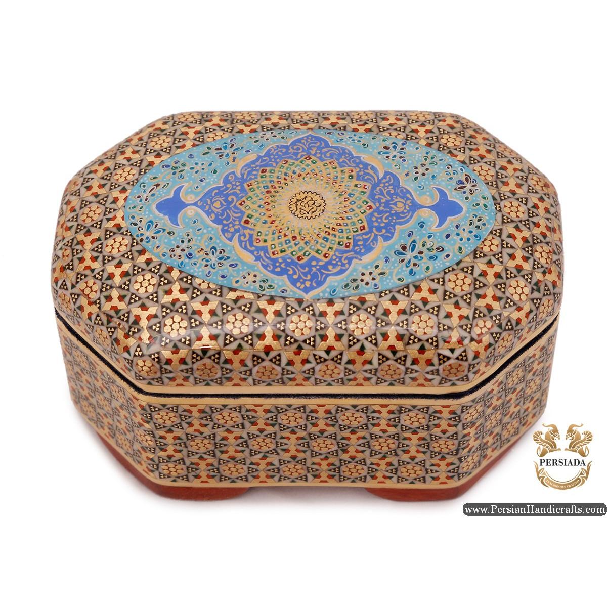 Jewellery Box   Miniature Khatam Marquetry   Persiada HKH6114
