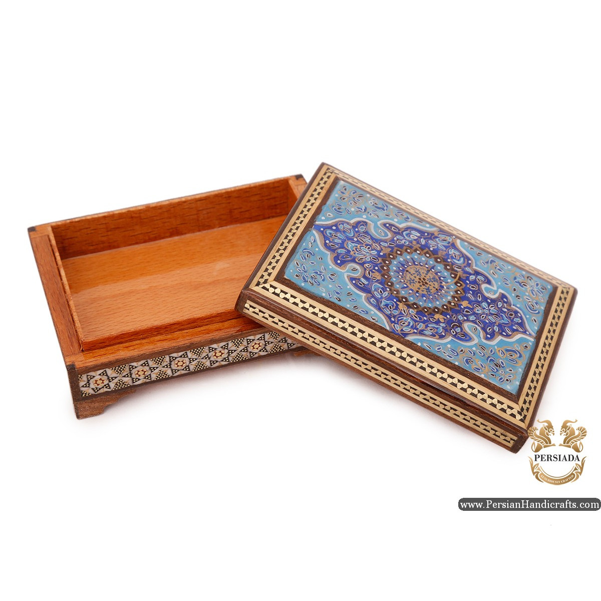 Mini Jewellery  Box | Miniature Khatam Marquetry | Persiada HKH6115