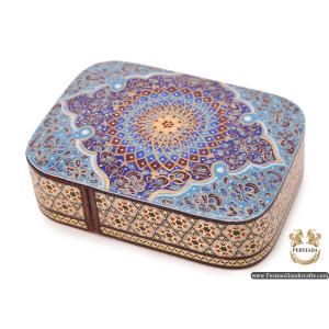 Jewellery  Box | Miniature Khatam Marquetry | Persiada HKH6117