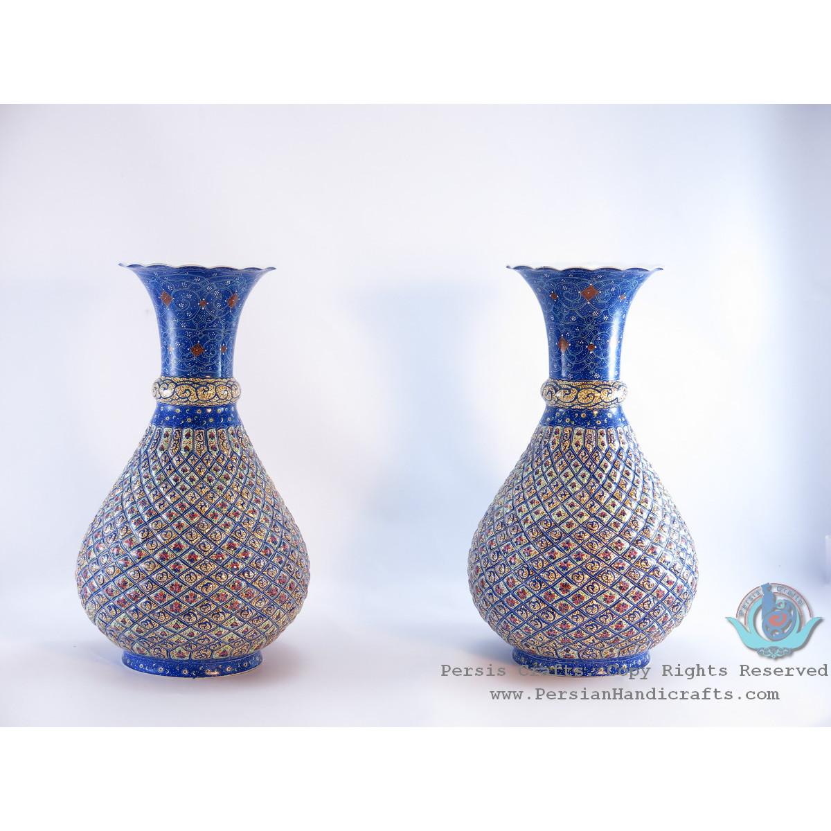 Enamel (Minakari)  Eslimi Flower Vase - PE1111