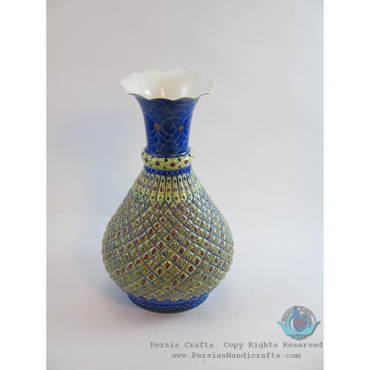 Enamel (Minakari)  Eslimi Flower Vase - PE1114