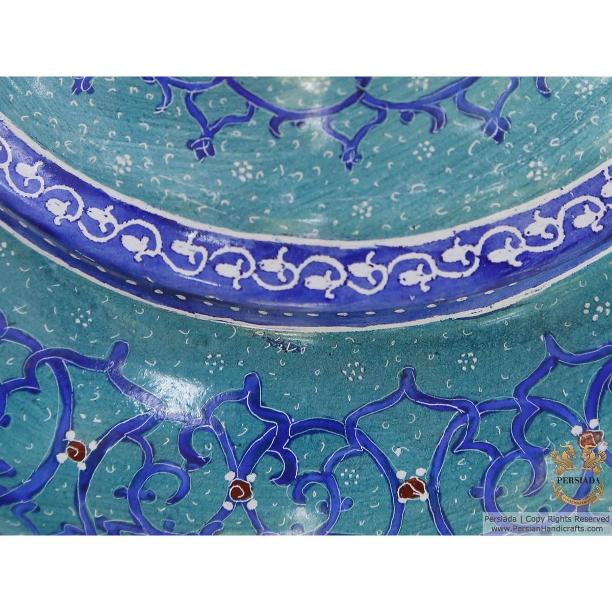 Sugar Candy Pot - Enamel Minakari   PE4108-Persian Handicrafts