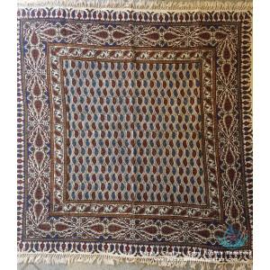 Hand Printed Ghalamkar Tablecloth - PGH1021-Persian Handicrafts