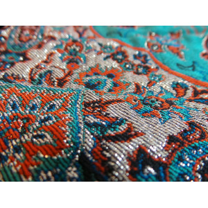Termeh Luxury Tablecloth/Cushion Cover - HT3002-Persian Handicrafts