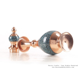 Turquoise Inlaying (FiroozehKoobi) Sake Jug - HTI3003-Persian Handicrafts