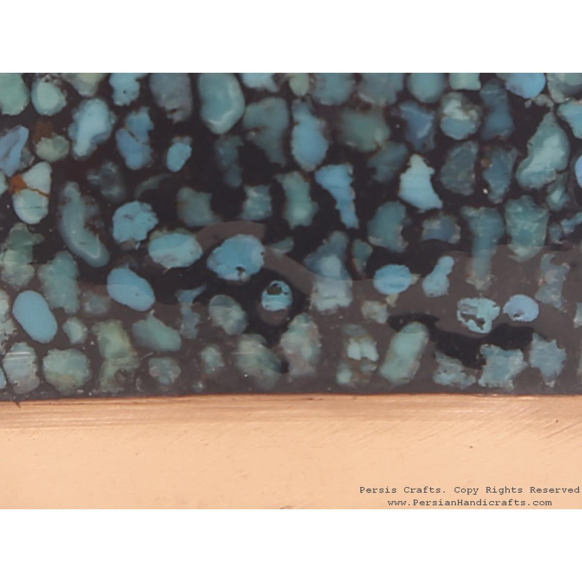 Turquoise Inlaying (FiroozehKoobi) Sake Jug - HTI3003
