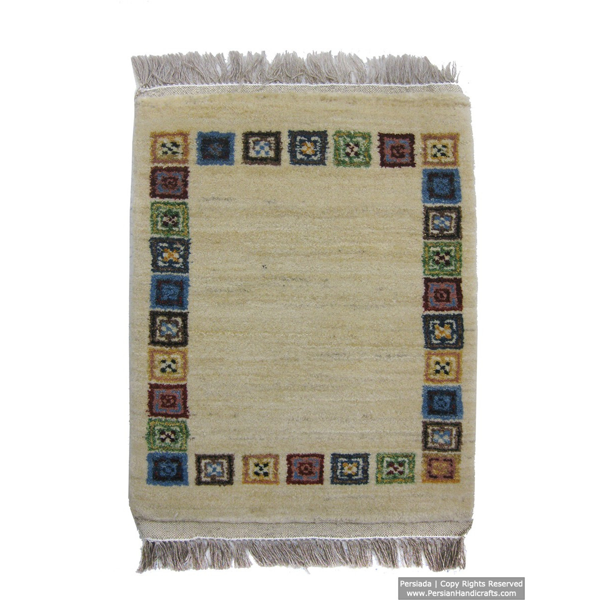 Gabbeh Wool Rug from Persian Ghashghai Nomads - RG5011-Persian Handicrafts
