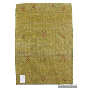 Gabbeh Wool Rug from Persian Ghashghai Nomads - RG5022-Persian Handicrafts