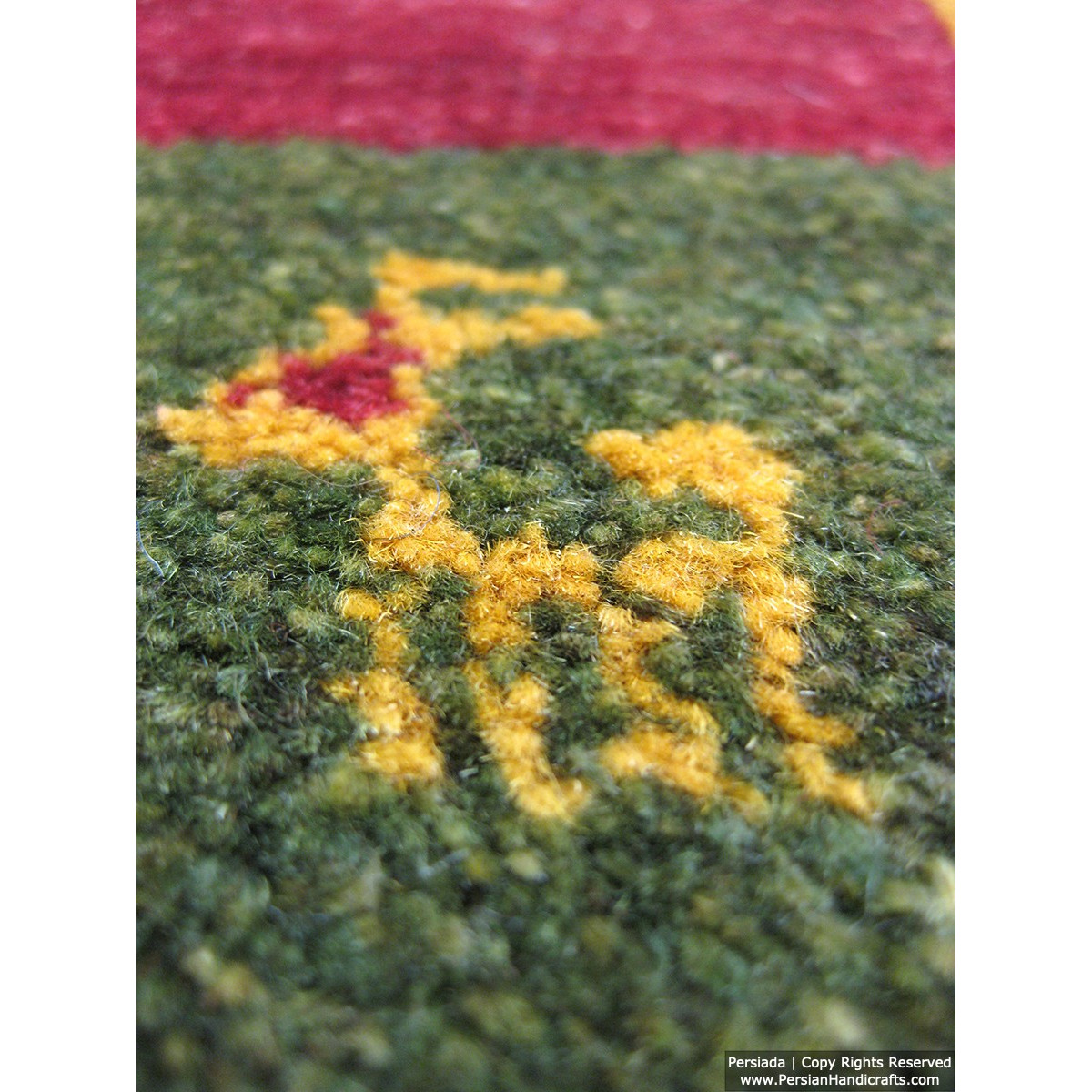 Gabbeh Wool Rug from Persian Ghashghai Nomads - RG5024-Persian Handicrafts