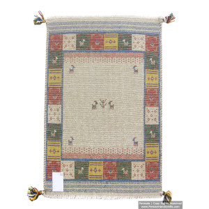 Gabbeh Wool Rug from Persian Ghashghai Nomads - RG5025-Persian Handicrafts