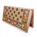 Backgammon Chess Set